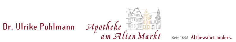 Apotheke am Alten Markt - Seit 1646. Altbewährt anders.