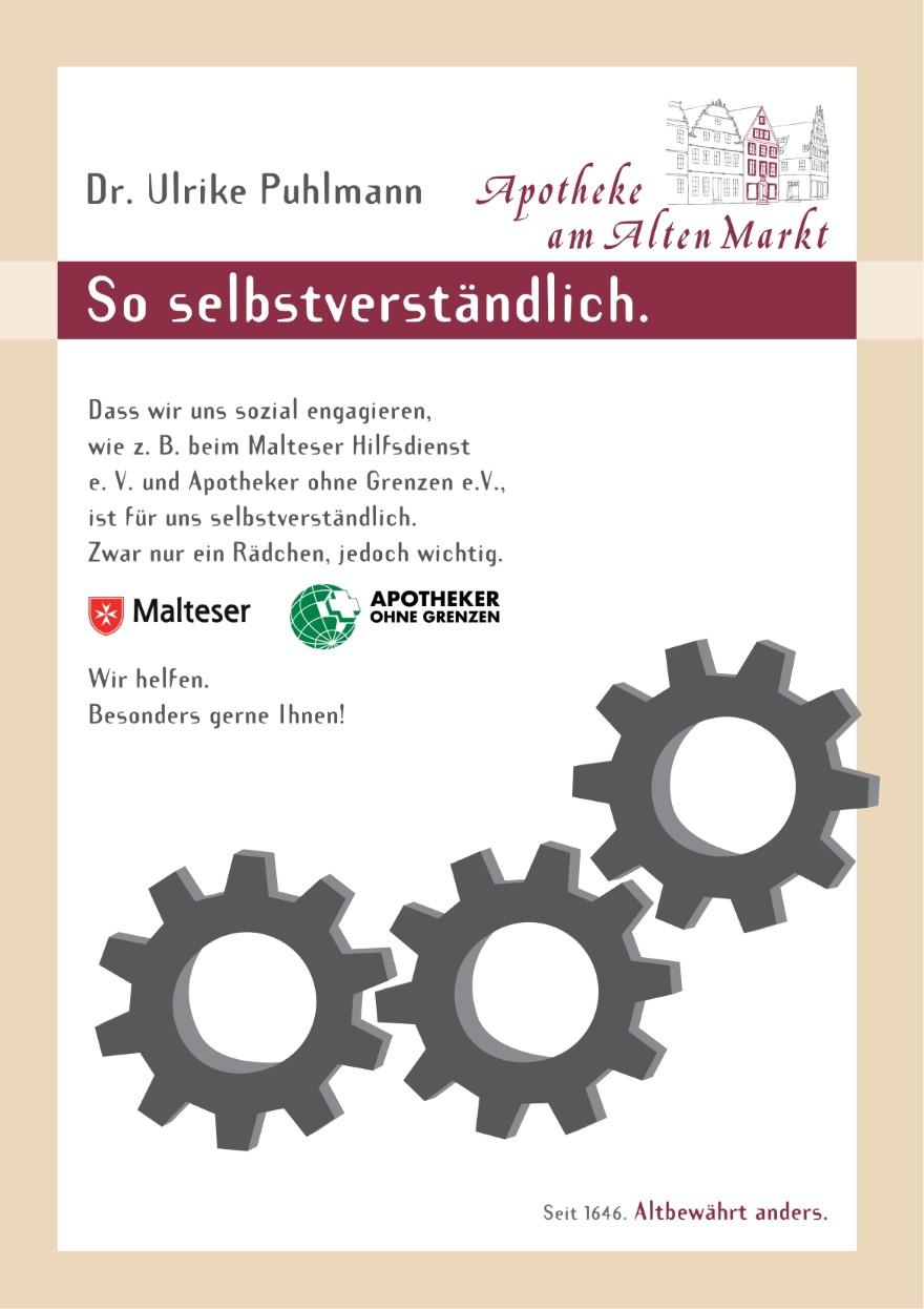 Apotheke am Alten Markt - Poster - Bleistift