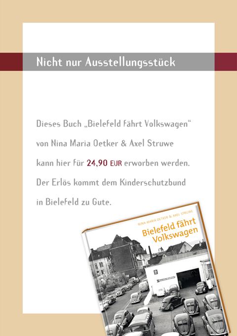 Aktion: Kinderschutzbund - Bielefeld fährt Volkswagen