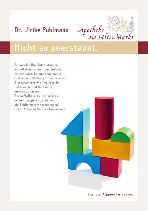 Apotheke am Alten Markt - Bielefeld - Blutuntersuchung