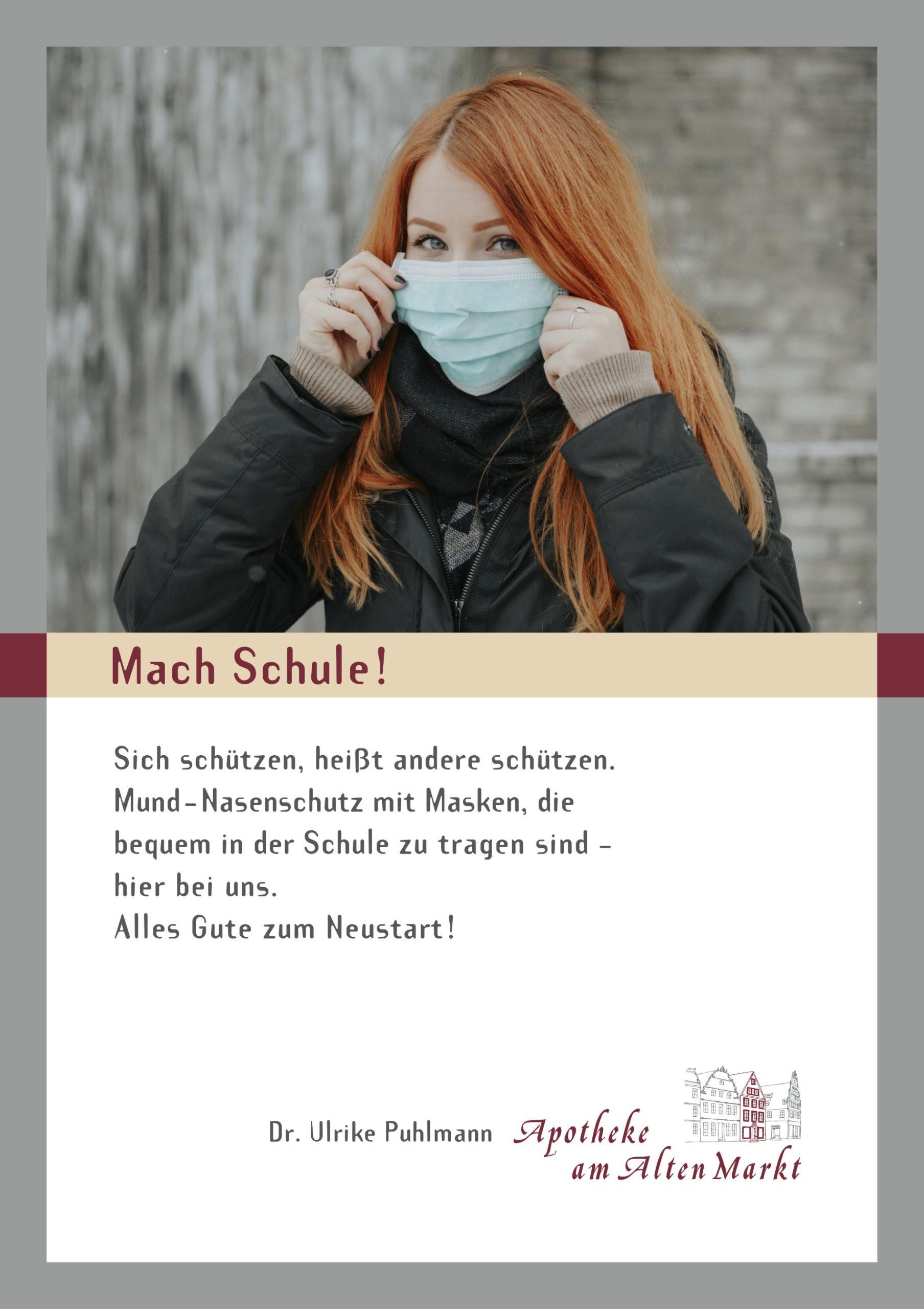 Apotheke am Alten Markt - Poster-Maske