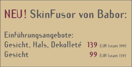 SkinFusor von Babor - Kosmetik-Institut am Alten Markt